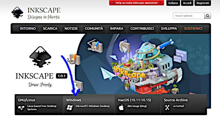 Download inkScape