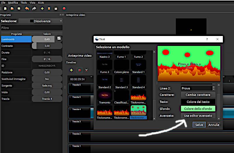 Editor Avanzato inkScape